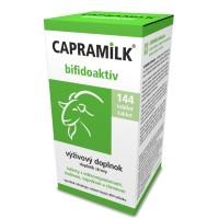 Tablety z kozieho mlieka CAPRAMILK BIFIDOAKTÍV, 144 tabliet