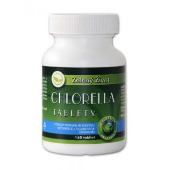 Chlorella vulgaris - 150 tabliet