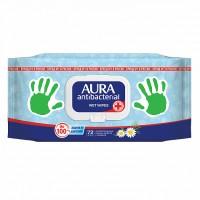 Vlhčené obrúsky s antibakteriálnym a hydratačným účinkom 72ks
