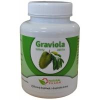 Graviola (Annona muricata) tablety 200 ks