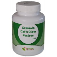 Graviola + Cat´s Claw /Mačací pazúr/ + Pestrec kapsuly 120 ks