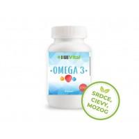 Omega 3 mastné kyseliny - Rybí olej - 1000 mg / 100 kapsúl