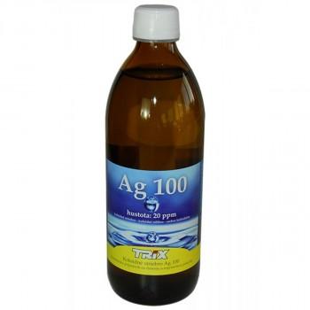 Koloidné striebro Ag100 500 ml 20 ppm