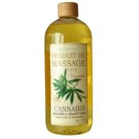 Masážny a telový olej Cannabis 1000ml