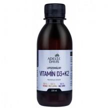 Lipozomálny vitamín D3 + K2 200 ml